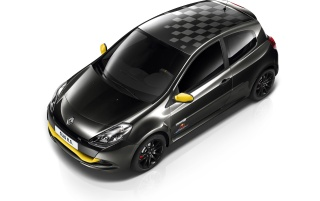 2012 Renault Clio RS Red Bull Racing RB7 Studio Front And Side Top wallpapers and stock photos