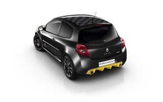 2012 Renault Clio RS Red Bull Racing RB7 Studio Rear Angle wallpapers and stock photos