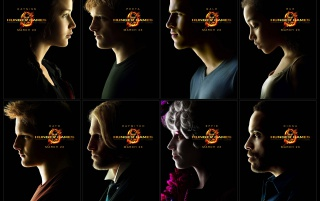 Hunger Games Posters wallpapers and stock photos