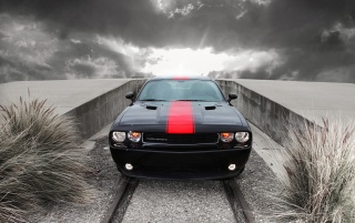 2012 Dodge Challenger Rallye Redline Front wallpapers and stock photos