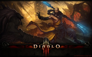 Diablo 3 Monk wallpapers and stock photos