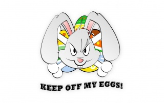 Keep off my eggs! wallpapers and stock photos