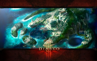 Diablo 3 City wallpapers and stock photos