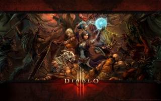 Diablo 3 Battle wallpapers and stock photos