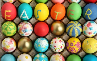 Easter eggs artwork wallpapers and stock photos