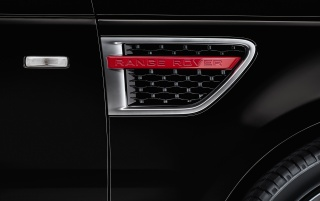 2012 Land Rover Range Rover Sport Limited Edition Fender Vent wallpapers and stock photos