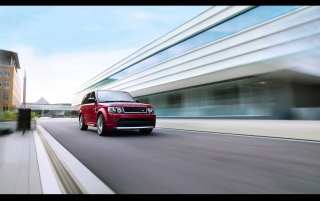 2012 Land Rover Range Rover Sport Limited Edition Front Angle Speed wallpapers and stock photos