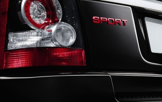 2012 Land Rover Range Rover Sport Limited Edition luz trasera wallpapers and stock photos