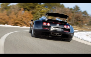 2012 Bugatti Veyron 16-4 Grand Sport Vitesse Rear Speed wallpapers and stock photos