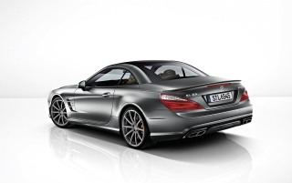 Mercedes-Benz SL 65 AMG 45th Anniversary Rear Angle wallpapers and stock photos