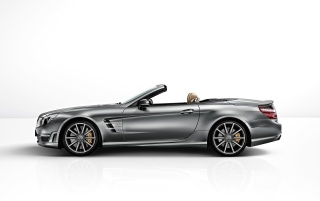 Mercedes-Benz SL 65 AMG 45th Anniversary Studio Side wallpapers and stock photos