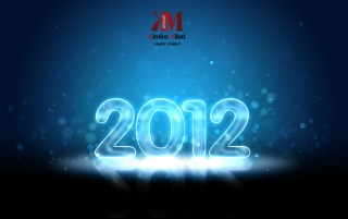 2012 Glowing wallpapers and stock photos