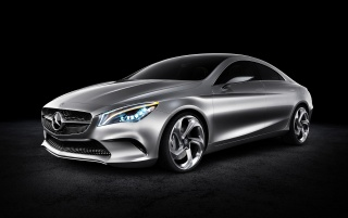 2012 Mercedes-Benz Concept Style Coupe Studio wallpapers and stock photos
