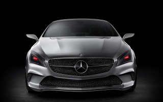 2012 Mercedes-Benz Concept Style Coupe Studio Front wallpapers and stock photos