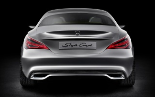 2012 Mercedes-Benz Concept Style Coupe Studio Rear wallpapers and stock photos