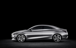 2012 Mercedes-Benz Concept Style Coupe Studio Side wallpapers and stock photos