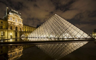 Louvre Museum Paris wallpapers and stock photos