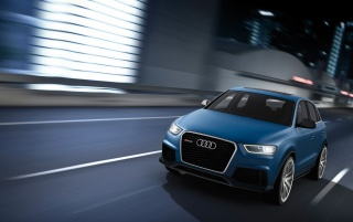 Next: 2012 Audi RS Q3 Concept Front Angle Speed