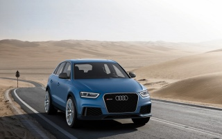 2012 Audi RS Q3 Concept Front Angle Static wallpapers and stock photos