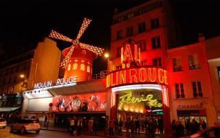 Moulin Rouge Paris wallpapers and stock photos