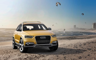 2012 Audi Q3 jinlong yufeng Front Angle wallpapers and stock photos