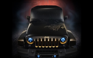 Random: 2012 Jeep Wrangler Dragon Design Concept Static