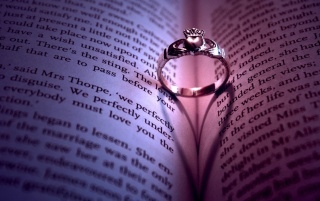 Ring on Book wallpapers and stock photos