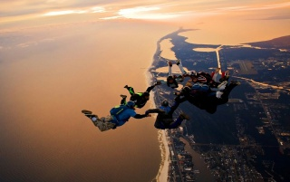 Parachute Jump wallpapers and stock photos