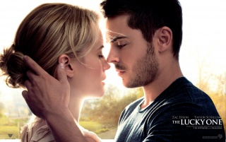 The Lucky One Movie Poster wallpapers and stock photos