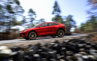 2012 Lamborghini Urus Concept Motion Day wallpapers and stock photos