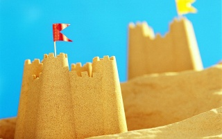 Sand Castle wallpapers and stock photos