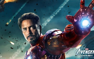 The Avengers: Ironman Poster wallpapers and stock photos