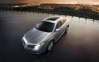 2013 Lincoln MKS estática wallpapers and stock photos