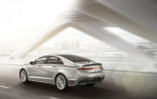 2013 Lincoln MKZ Motion-Rear wallpapers and stock photos