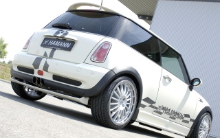 Mini Cooper rear wallpapers and stock photos