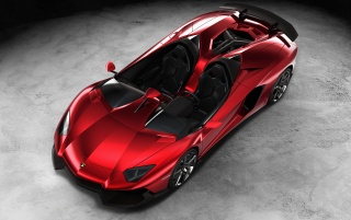Random: 2012 Lamborghini Aventador J Front And Side Top