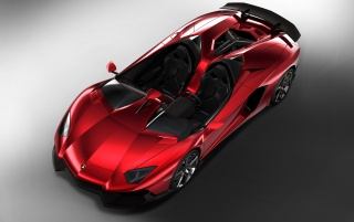 Previous: 2012 Lamborghini Aventador J Front and Side Top