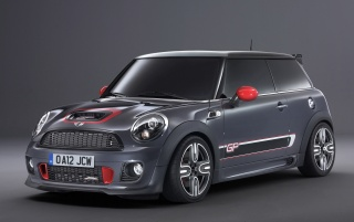 2012 Mini John Cooper Works GP Studio wallpapers and stock photos