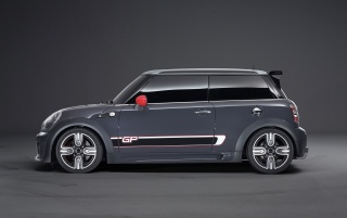 2012 Mini John Cooper Works GP Side wallpapers and stock photos