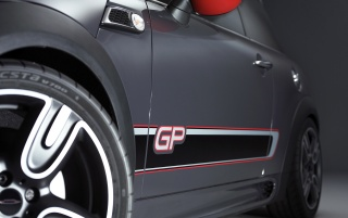 2012 Mini John Cooper Works GP Front Section wallpapers and stock photos