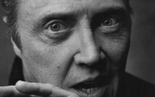 Christopher Walken Black and White Close-up wallpapers and stock photos