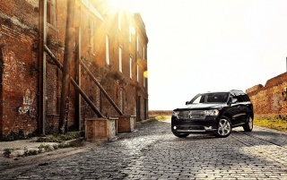Dodge Durango on Set wallpapers and stock photos