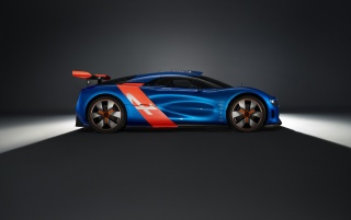 2012 Renault Alpine A110-50 Concept Studio Side wallpapers and stock photos