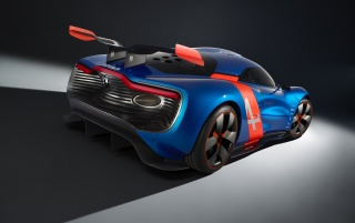 2012 Renault Alpine A110-50 Concept Studio Rear Angle wallpapers and stock photos