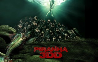Piranha 3DD wallpapers and stock photos