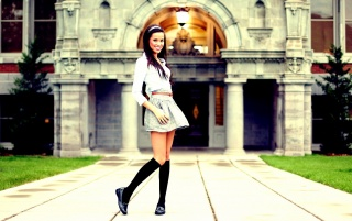 Beautiful Brunette Schoolgirl wallpapers and stock photos