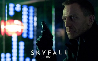 James Bond Skyfall 007 Night wallpapers and stock photos
