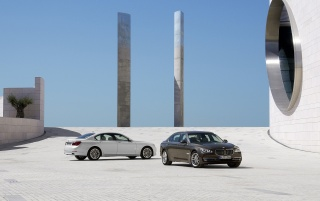 Next: 2012 BMW 7 Series White and Brown