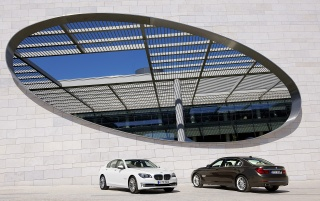 2012 BMW 7 Series Duo wallpapers and stock photos