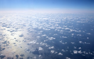 Clouds From Above wallpapers and stock photos
